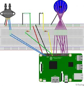 Fritzing wiring diagram