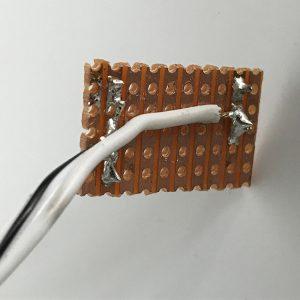 Probe soldering
